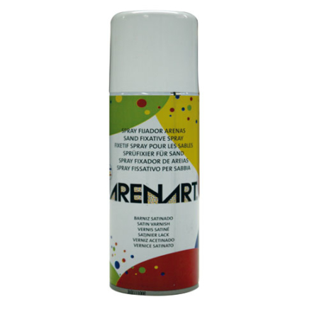 BARNIZ FIJADOR DE ARENA SATINADO EN SPRAY 200 ML