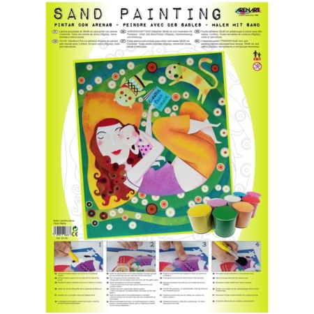 SAND PAINTING MADRE