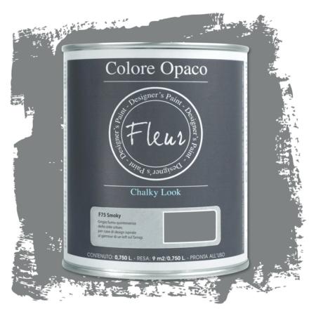 Pintura chalky look de Fleur 750 ml Smoky