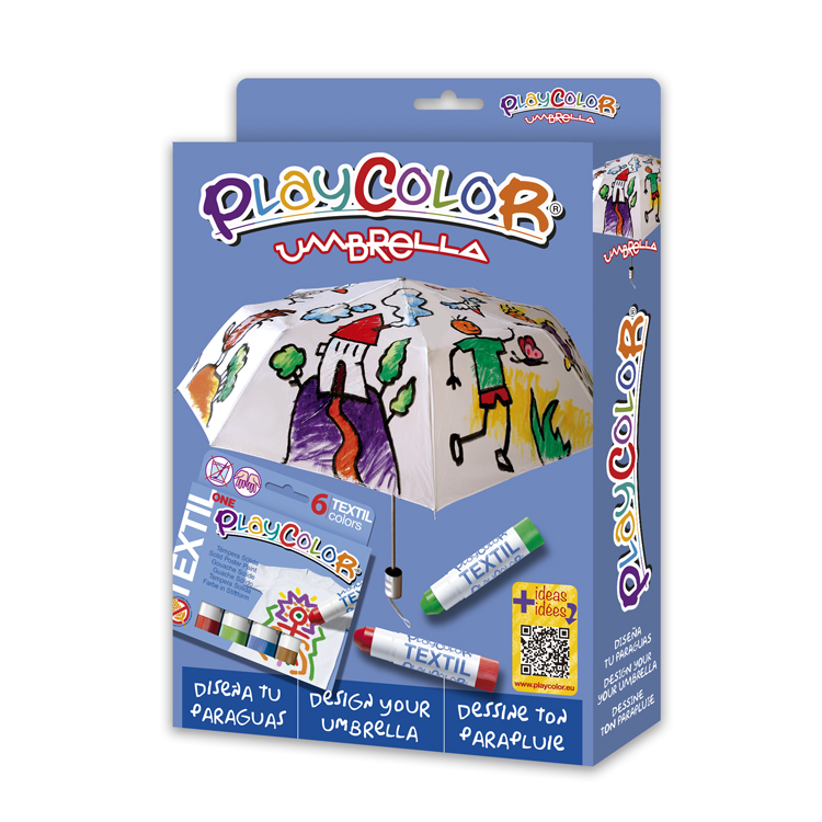 PLAYCOLOR PACK UMBRELLA PARAGUAS