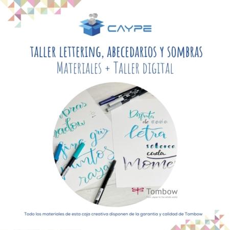 CURSO DIGITAL DE LETTERING + MATERIALES - ABECEDARIOS Y SOMBRAS