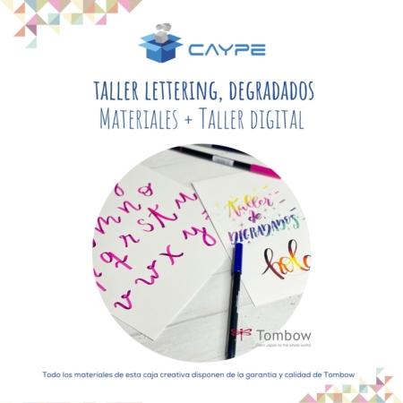 CURSO DIGITAL DE LETTERING + MATERIALES - DEGRADADOS