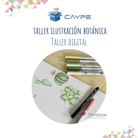 CURSO DIGITAL DE ILUSTRACIÓN BOTÁNICA