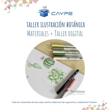 CURSO DIGITAL DE ILUSTRACIÓN BOTÁNICA + MATERIALES