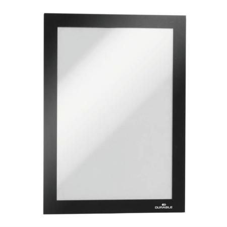 PACK DE 5 FUNDAS MAGNETICAS DURAFRAME A5 NEGRO