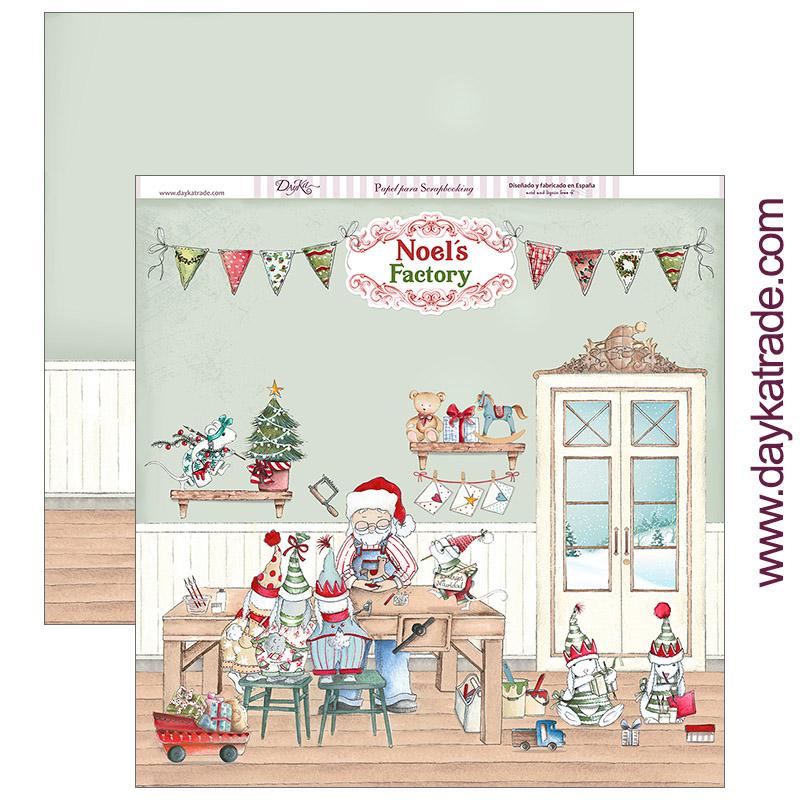 """PAPEL SCRAP SCP-284 """"Feliz Navidad"""""""