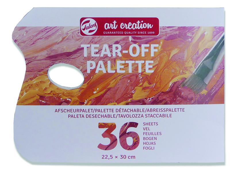 BLOC 36 HOJAS PALETA DESECHABLE 22,5X30