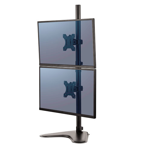 Peana para monitor doble vertical Professional Series