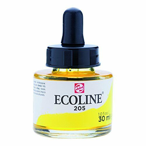 FRASCO TINTA ECOLINE AMARILLO LIMON 30ML