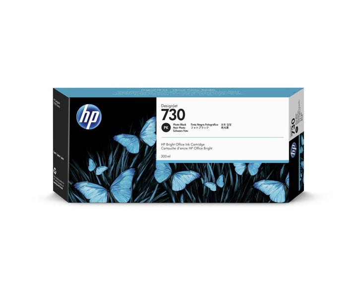 TINTA HP DESINGNET 730 NEGRO FOTOGRAF 300ML P2V73A