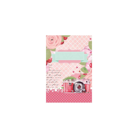 VELLUM CARDS PINK 12 TARJETAS SCRAP ELENA ROCHE