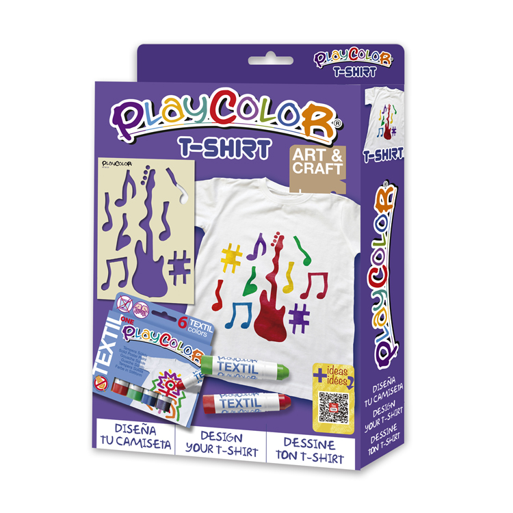 PLAYCOLOR PACK T-SHIRT CAMISETA 7-9 AÑOS