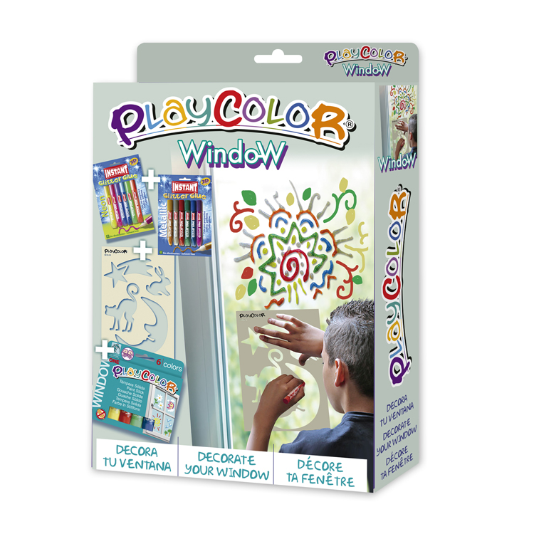 PLAYCOLOR PACK WINDOW
