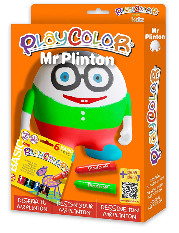 PLAYCOLOR PACK MR PLINTON