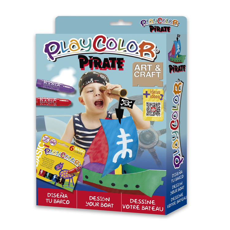 PLAYCOLOR PACK PIRATE PIRATA