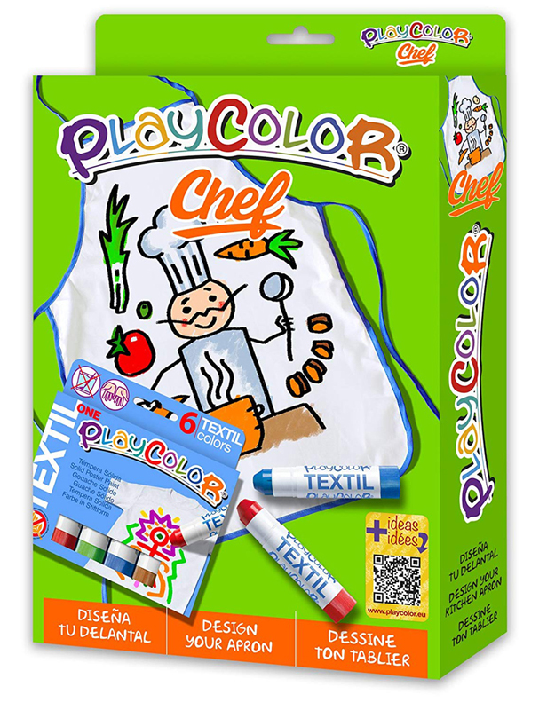 PLAYCOLOR PACK CHEF DELANTAL