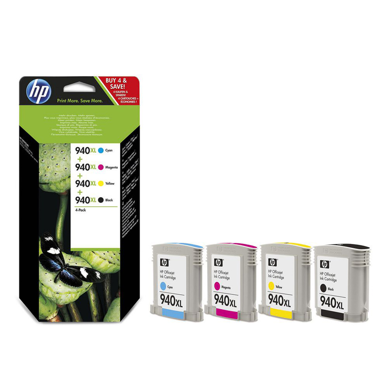 PACK 4 TINTA HP 940XL C2N93AE