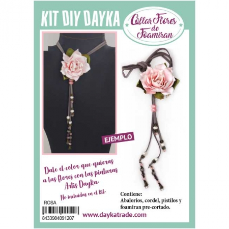 KIT COLLAR ROSA REAL