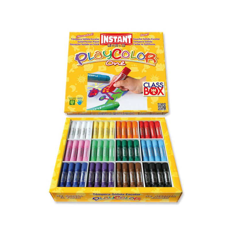C/144 TEMPERA SOLIDA PLAYCOLOR 5GR BASIC POCKET