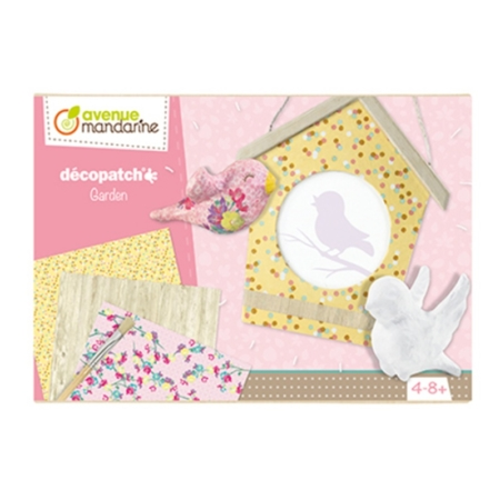 CAJA CREATIVA DECOPATCH GARDEN