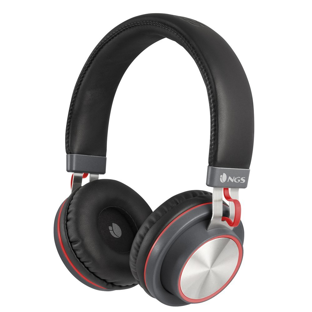 AURICULARES BLUETOOH NGS NEGRO/ROJO