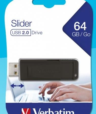 PEN DRIVE VERBATIM 2.0 64GB