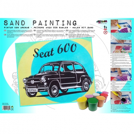 SAND PAINTING SEAT 600