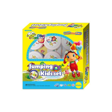 JUMPING CLAY KIDS SET CONTAINER
