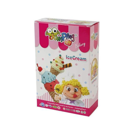 JUMPING CLAY BAKERY SERIES SET ICE CREAM