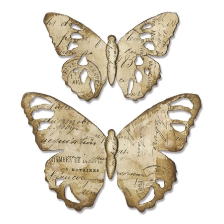 TROQUEL BIGZ TATTERED BUTTERFLY BY TIM HOLTZ