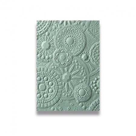 PLACA TEXTURA 3D TEXTURED IMPRESSIONS MOSAIC GEMS