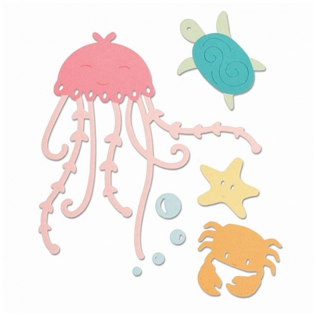 SET 5 TROQUEL THINLITS UNDER THE SEA BY OLIVIA ROS