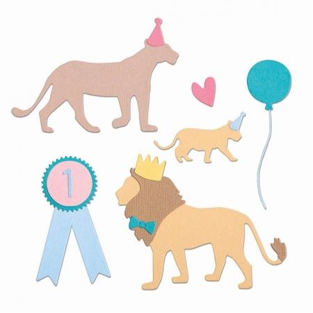 SET 11 TROQUEL THINLITS PARTY CATS BY SOPHIE GUILA