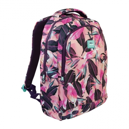 MOCHILA ESCOLAR MILAN 17L TROPICAL