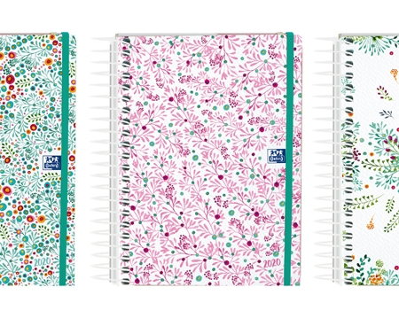 AGENDA OXFORD 2020 MY COLOURS 15x21 DIA PAGINA ESP CON GOMAS