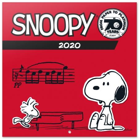 CALENDARIO 2020 30X30 SNOOPY