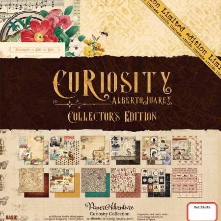 Curiosity paper pad Edición coleccionista 12h