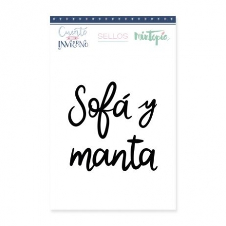 SELLO SOFA Y MANTA 4,5 CM X 5 CM