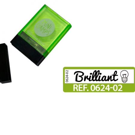 "SELLO ""BRILLIANT"" INGLES VERDE"