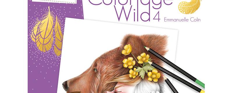 CUADERNO COLOREAR WILD 4