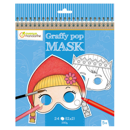 GRAFFY POP MASK CUENTOS DE GRIMM