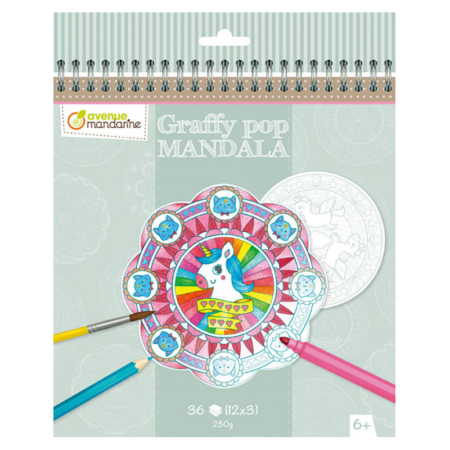 GRAFFY POP MANDALA MAGIA