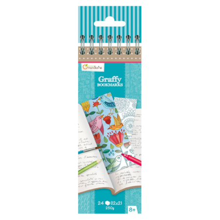 GRAFFY BOOKMARK MANDALA/FLORES