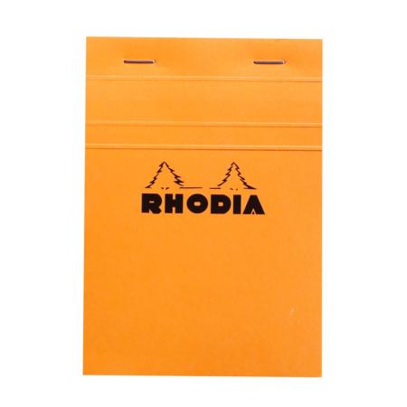 BLOC RHODIA ORANGE GRAP. 80H, 80G 10,5X1