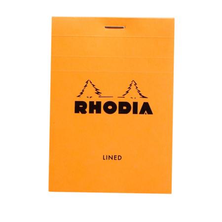 BLOC RHODIA ORANGE GRAP. 80H, 80G 8,5X12