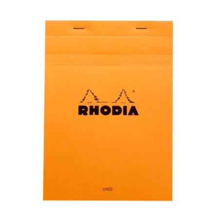 BLOC RHODIA ORANGE GRAP. 80H, 80G 14,8X2