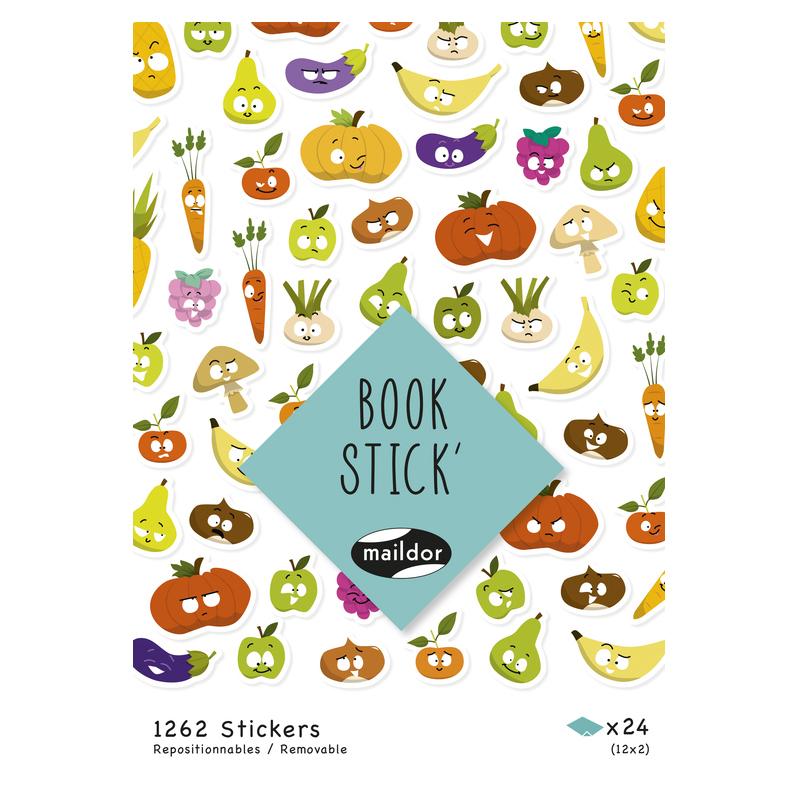 BOOK STICK A5  EMOTICONOS