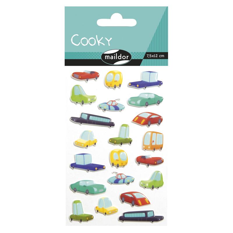 COOKY COCHE PQ 1H 7,5X12CM