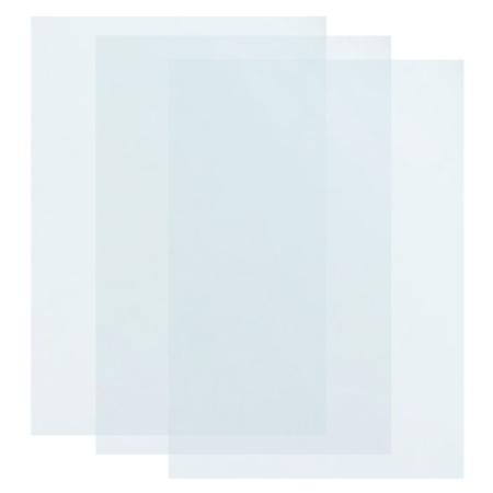 PAQUETE DE 100 LAMINAS DE ENCUADERNAR GLASPACK A4 TRANSPARENTES 180µ