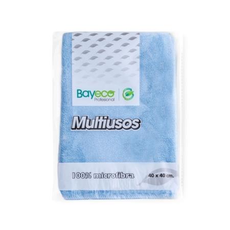 BAYETA DE MICROFIBRA AZUL 40 X 40 CM